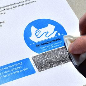 Dataform AG | Printprodukte | phenoPIN